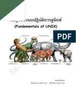 Fundamentals of Unix