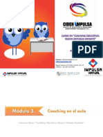 Coaching Educativo Modulo 3 Primera Parte