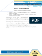 Evidencia 15 Actividad 4 Ciclo de Vida Del Producto