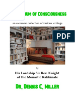 Compendium of Consciousness