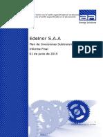 Edelnor PI 2017-21 Informe Final