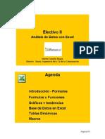 Curso Análisis de Datos Con Microsoft Excel
