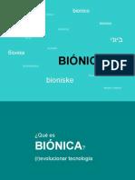 Bionica presentacion
