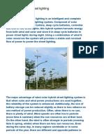 ELECTRICAL LIVE_ Wind Solar Hybrid Street Lighting