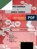 Marco Empírico y Teórico b