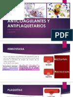 Anticoagulantes y Antiplaquetarios