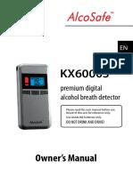 alcoholimetro KX6000S