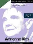 Cuaderno de Poesia Critica n 10 Adrienne Rich