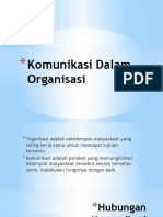 Komunikasi Dalam Organisasi (2)