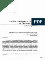Soares, Antonio Jorge. História e a Invenção Das Tradições No Futebol Brasileiro