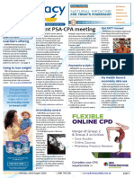 Pharmacy Daily for Mon 22 Aug 2016 - Joint PSA-CPA meeting, PSNZ Pharmacist of the Year, Qld PATY named, Weekly Comment and much more