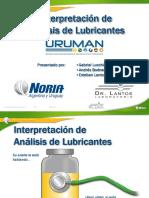 Interpretacion Analisis Lubricantes Uruman 2014