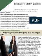 Top10programmanagerinterviewquestionsandanswers 1