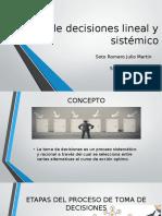 Toma de decisiones lineal y sistémico.pptx