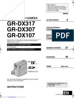 JVC GR-DX107/GR-DX307/GR-DX317 Instructions Manual