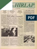 Pest Megyei Hírlap címlapja, 1994/08/23