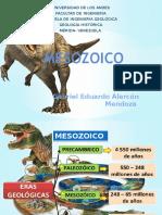 Mesozoico Presentación Gabriel