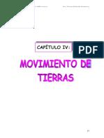 Movimiento de Tierra Metrados