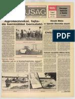 Tolna Megyei Népújság címlapja, 1988/06/15