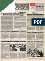 Tolna Megyei Népújság címlapja, 1988/09/07