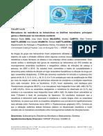 Marcadores de Resistência Às Tetraciclinas No Biofilme Microbiano-principais