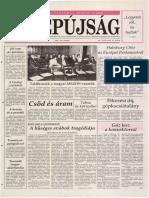 Tolnai Népújság címlapja, 1992/01/18