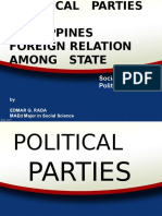 Political Parties and Foreign Relation Among State