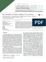 Burst investigation on zircaloy-4 claddings in inert environment