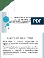 La Resistencia Transferencia, Contratransferencia y La Regresión
