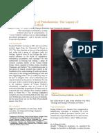 A Ninet Year History of Periodontosis the Legacy of Professor Bernhard Gottlieb