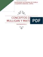 Conceptos de Maitland y Mulligan
