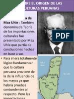 Teorías de Las Culturas Peruanas