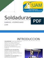 Exposicion Soldaduras Tecnicas II
