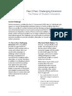 P2P Project Brief F16-Domestic