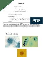 Amebosis Giardiosis y Balantidiosis