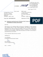 Intimation regarding Investors Meetings of the Company and Submission of Presentation to be made to the Investors [Company Update]