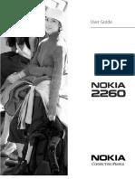 Nokia 2260 Manual