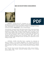 BIOGRAFIAS MINIMAS DE ESCRITORES HONDUREÑOS.docx
