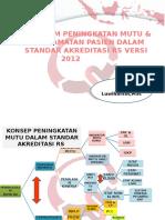 PMKP Dalam Standar Akreditasi RS