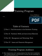 joann mckean facilitator training program