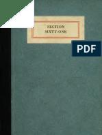 (1917) Section Sixty-One (A.E.F. Ambulance)