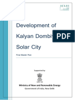 Kalyan Dombivli Solar City Master Plan
