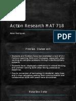 action research mat 718 final