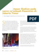 Pemberantasan Skabies Pada Santri Di Sebuah Pesantren Di Jakarta Timur