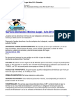 Servicio Domestico Minimo Legla Ano 2013 Colombia