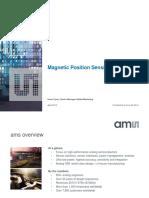 Ams Position Sensor Overview