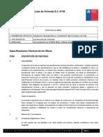 Especificaciones Técnicas Generales Alerce - Ampliación