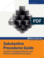 Substantive Procedure Approach