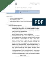 Ext Fds Direito Administrativo Aula03