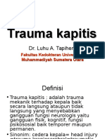 Trauma Kapitis Revisi